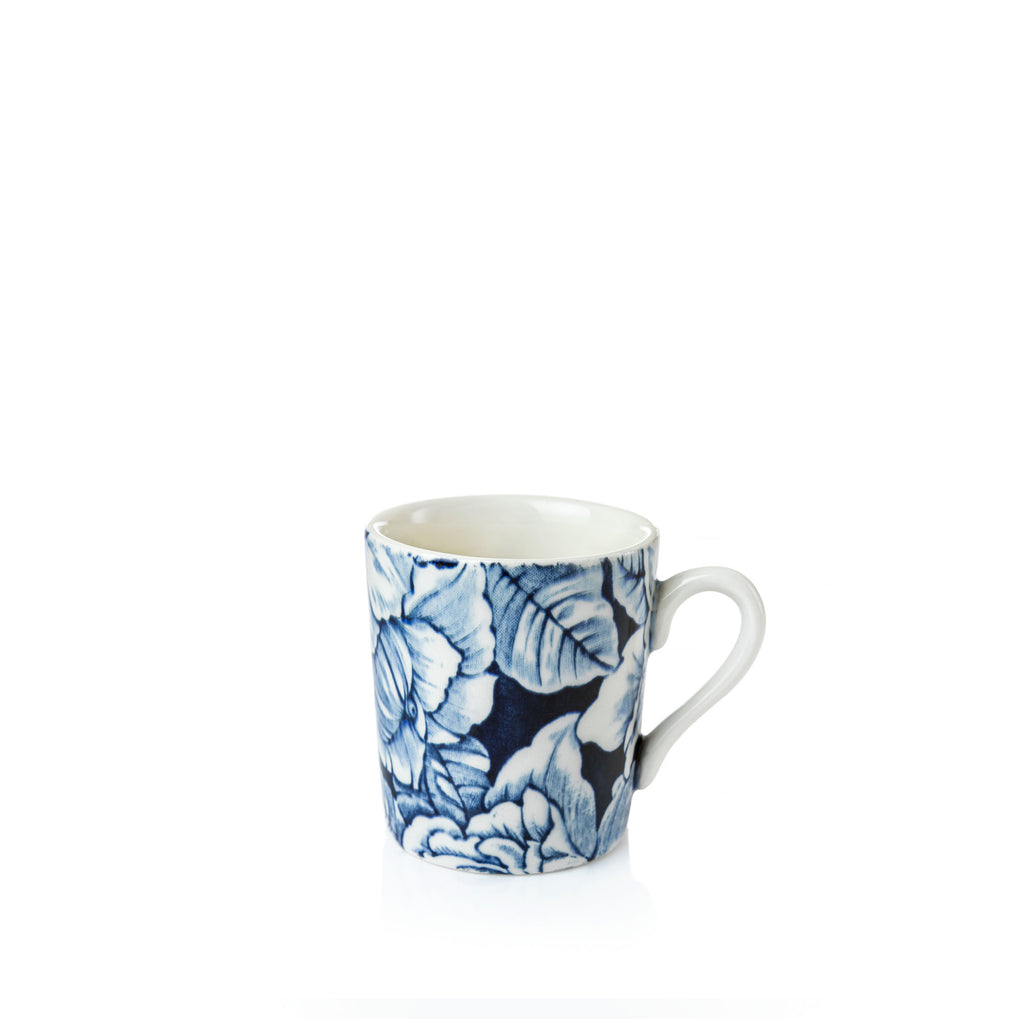 Ink Blue Hibiscus Espresso Cup 75ml