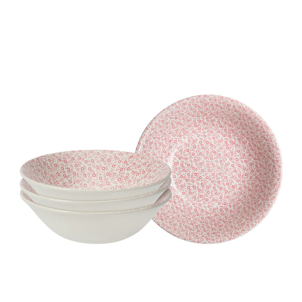Rose Pink Felicity Cereal Bowl set of 4
