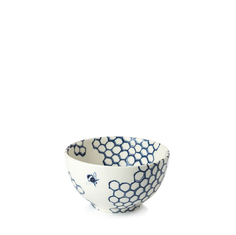 Ink Blue Pollen Mini Footed Bowl