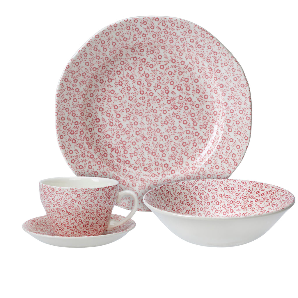Rose Pink Felicity Breakfast Set