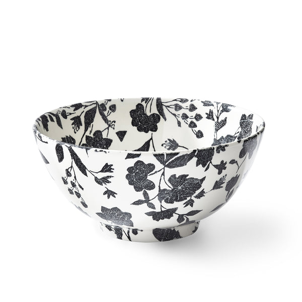 Garden Vine Black Footed Bowl