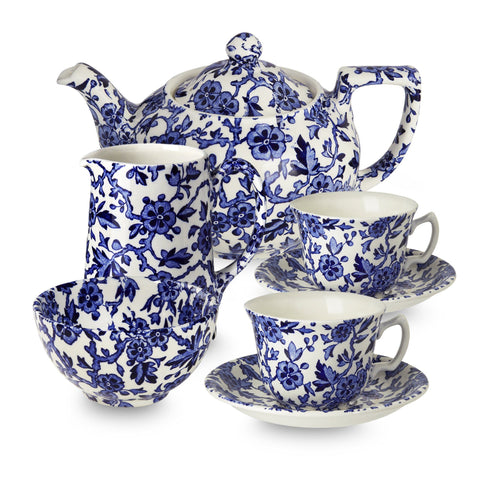 Blue Arden Tea Set