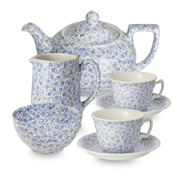Blue Felicity Tea Set