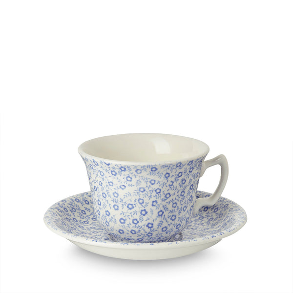 Blue Felicity Teacup And Saucer