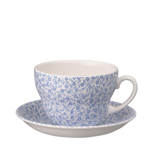 Blue Felicity Breakfast Cup and Saucer