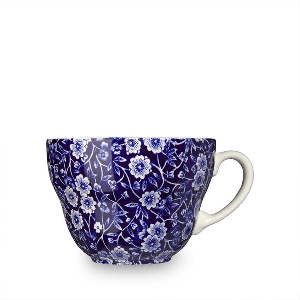 Breakfast Cup - Blue Calico Breakfast Cup 425ml / 0.75pt Seconds