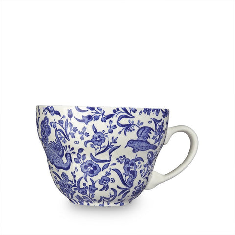 Blue Regal Peacock Breakfast Cup 425ml / 0.75pt Seconds