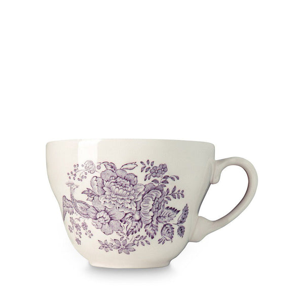 Breakfast Cup - Plum Asiatic Pheasants Breakfast Cup 425ml/0.75pt Seconds