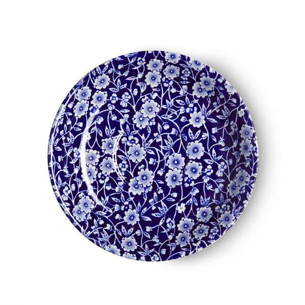 Breakfast Saucer - Blue Calico Breakfast Saucer Seconds