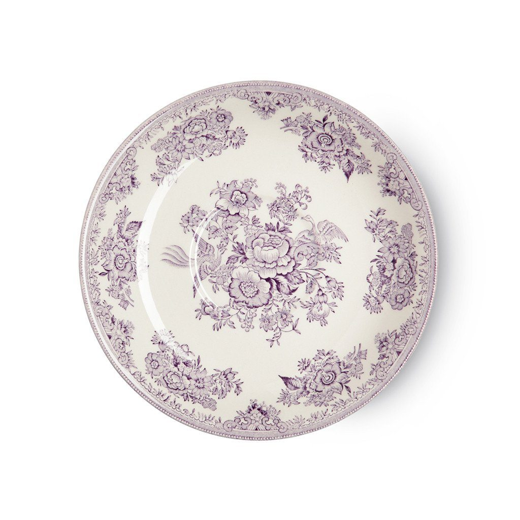 Breakfast Saucer - Plum Asiatic Pheasants Breakfast Saucer