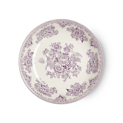 Plum Asiatic Pheasants Breakfast Saucer