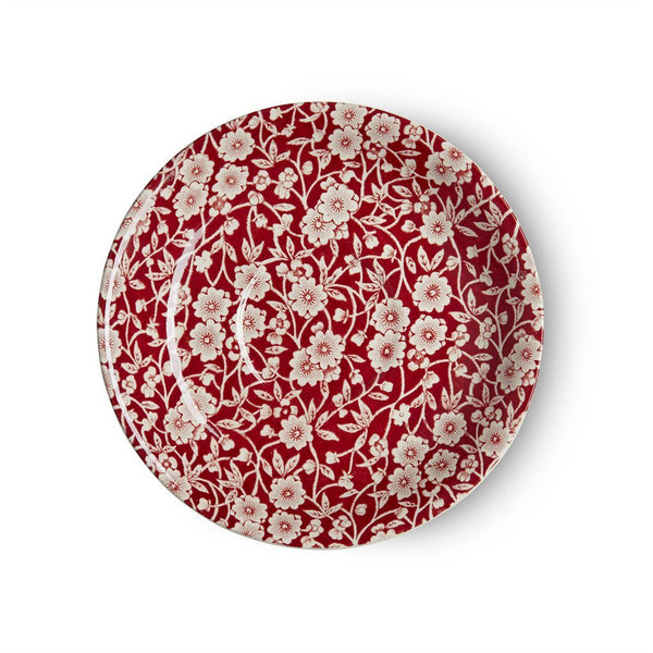 Breakfast Saucer - Red Calico Breakfast Saucer