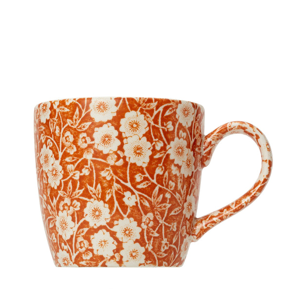 Burnt Orange Calico 50th Anniversary Osbourne Mug