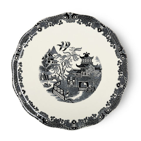 "Black Willow Cake Plate 28.5cm/11.25"" Seconds"