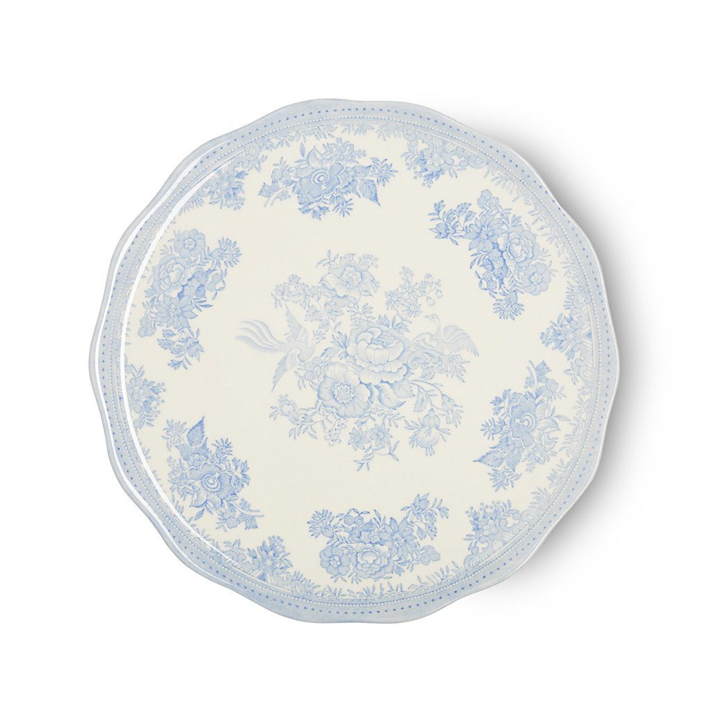 "Cake Plate - Blue Asiatic Pheasants Cake Plate 28cm/11"" Seconds"