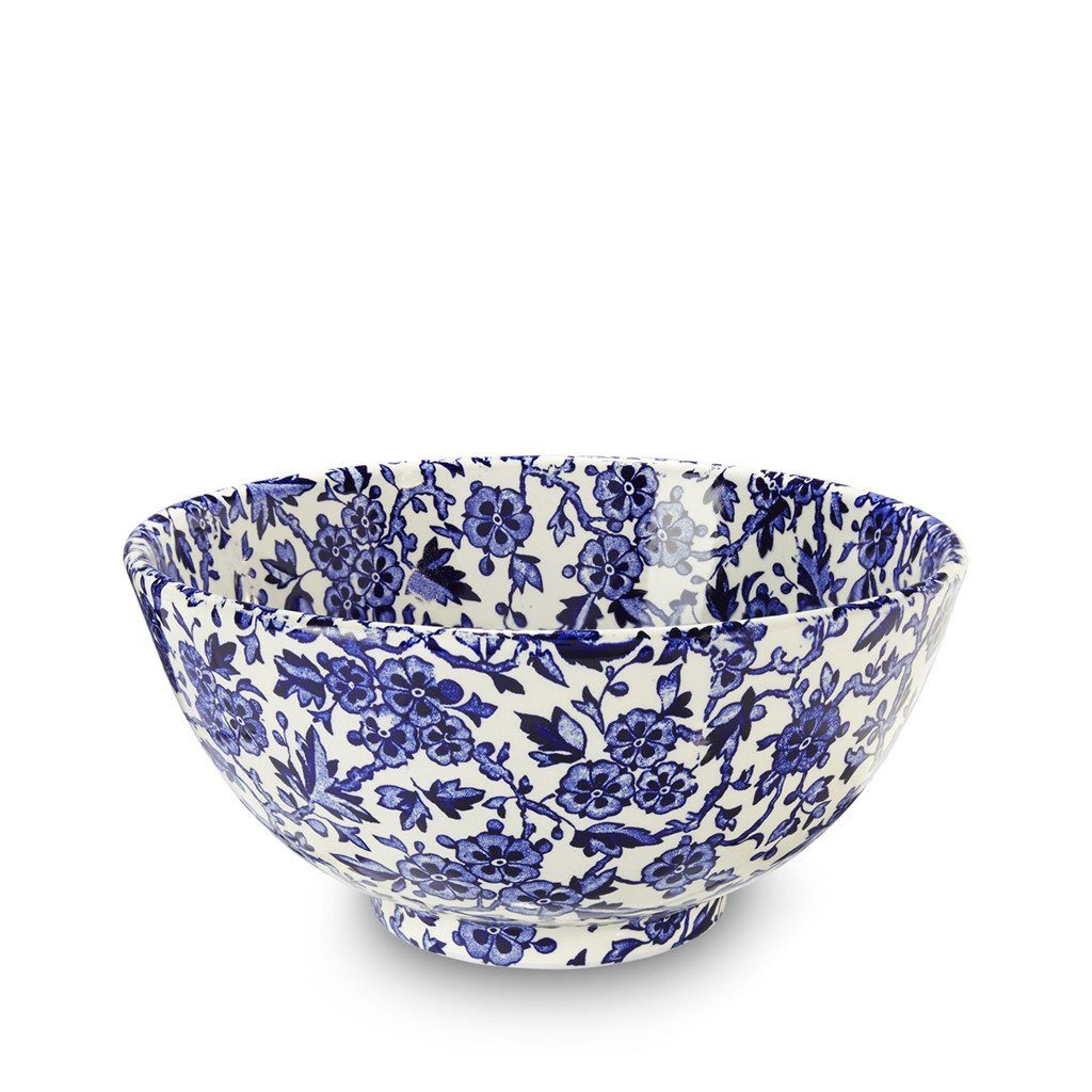 Chinese Bowl - Blue Arden Medium Footed Bowl 20.5cm/8""