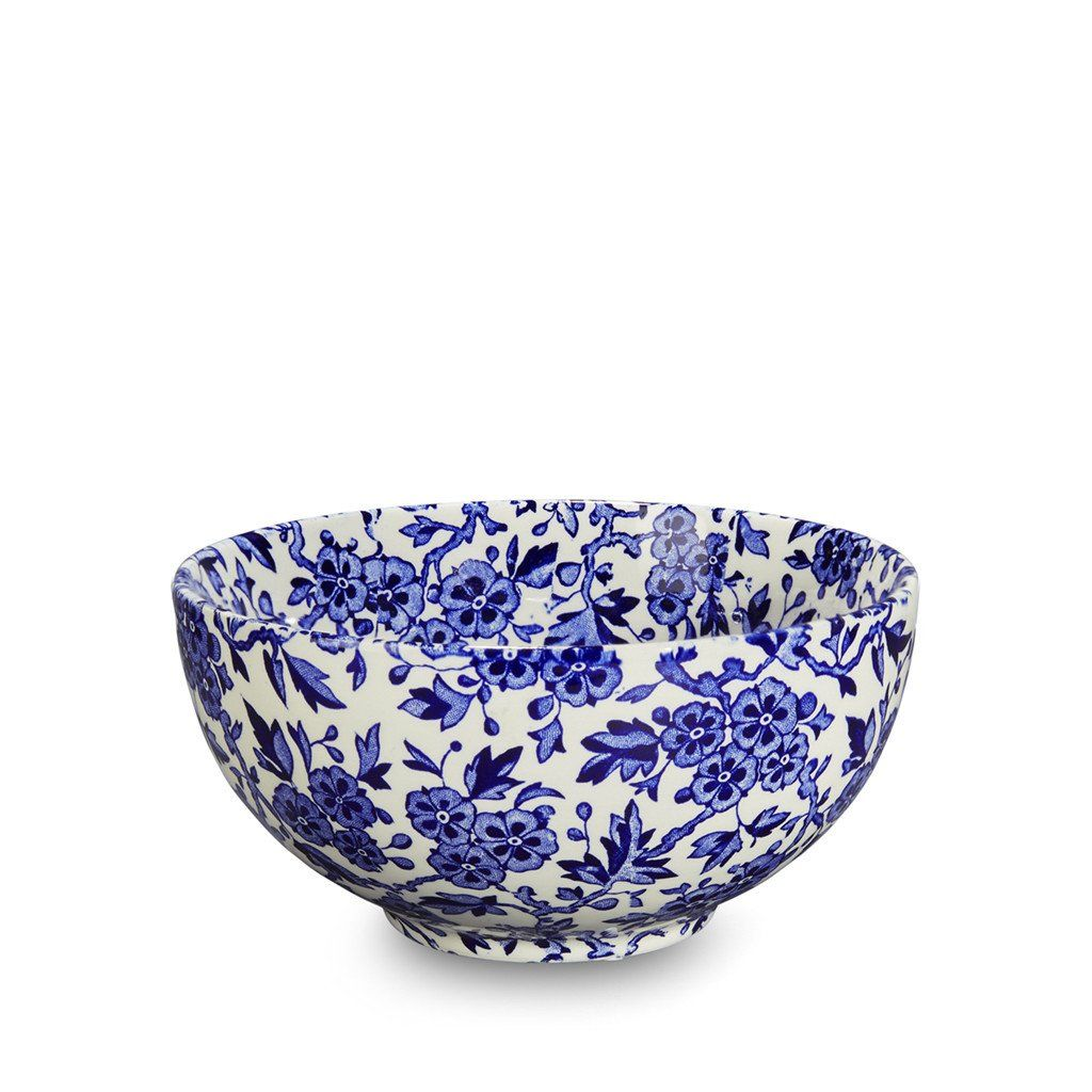 "Chinese Bowl - Blue Arden Small Footed Bowl 16cm/ 6.25"" Seconds"