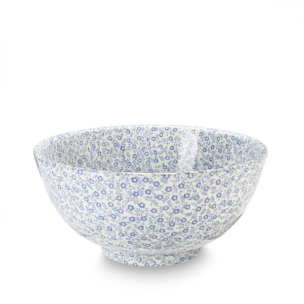 Chinese Bowl - Blue Felicity Medium Footed Bowl 20.5cm/8""