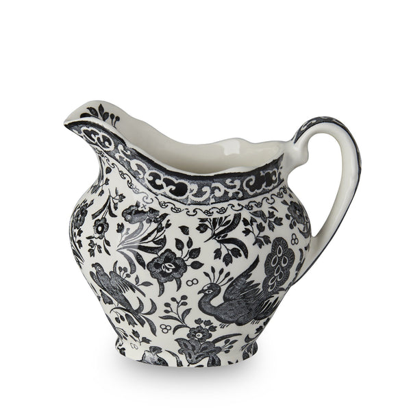 Cream Jug - Black Regal Peacock Cream Jug 284ml/0.5pt