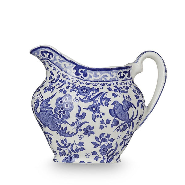 Cream Jug - Blue Regal Peacock Cream Jug 284ml/0.5pt