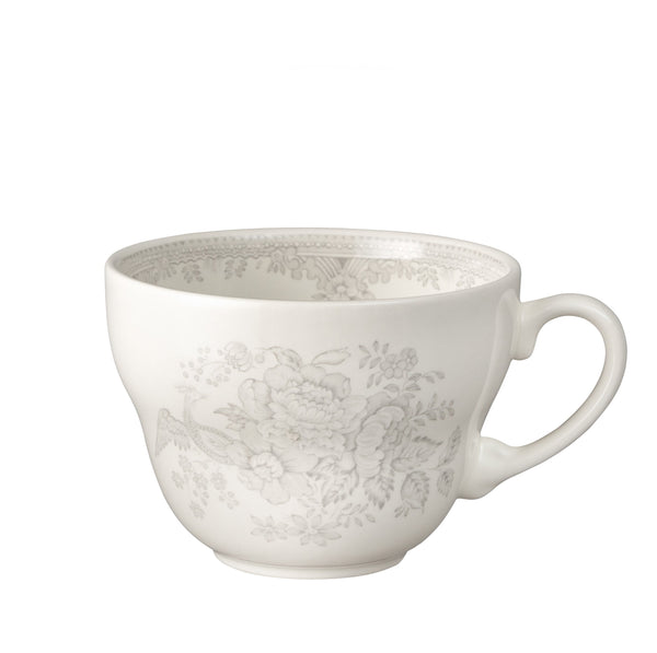 Dove Grey Asiatic Pheasants Breakfast Cup