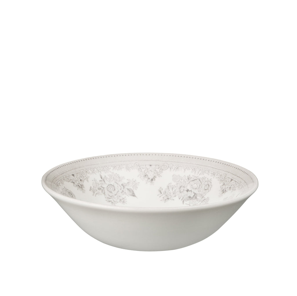 Dove Grey Asiatic Pheasants Cereal Bowl