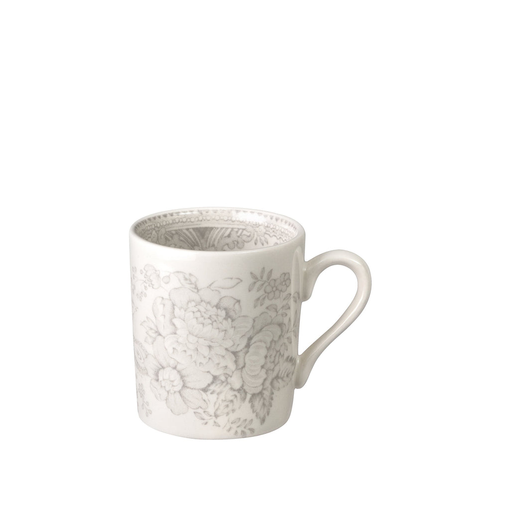 Dove Grey Asiatic Pheasants Espresso Cup