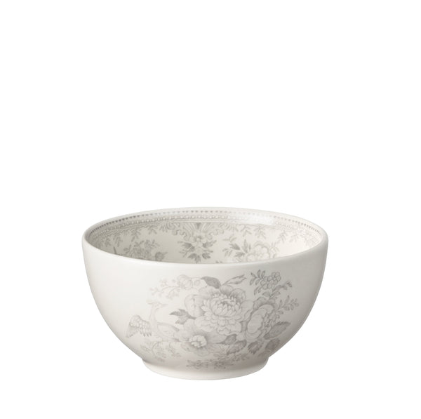Dove Grey Asiatic Pheasants Mini Footed Bowl