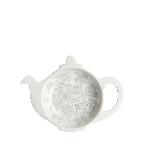 Dove Grey Asiatic Pheasants Mini Teapot Tray (Gift Boxed)