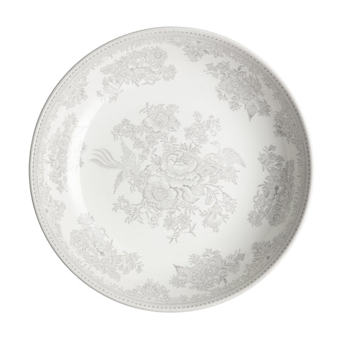 Dove Grey Asiatic Pheasants Pasta Bowl