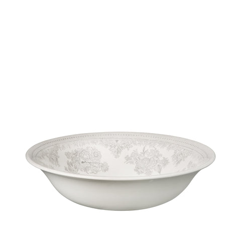 Dove Grey Asiatic Pheasants Pudding/Soup bowl