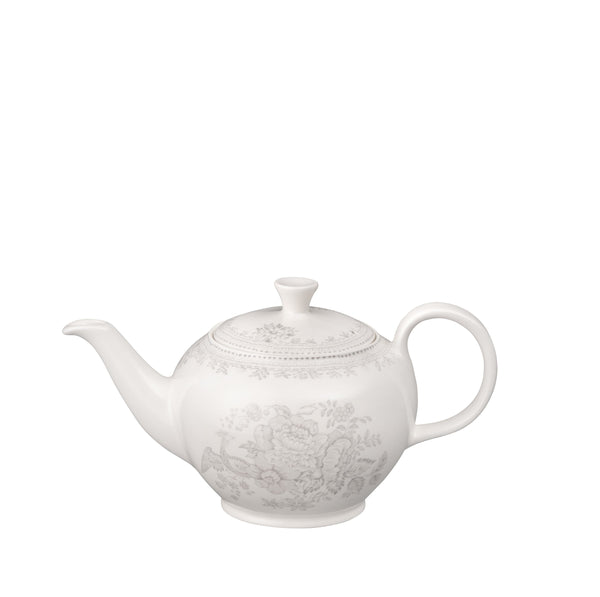 Dove Grey Asiatic Pheasants Small Teapot