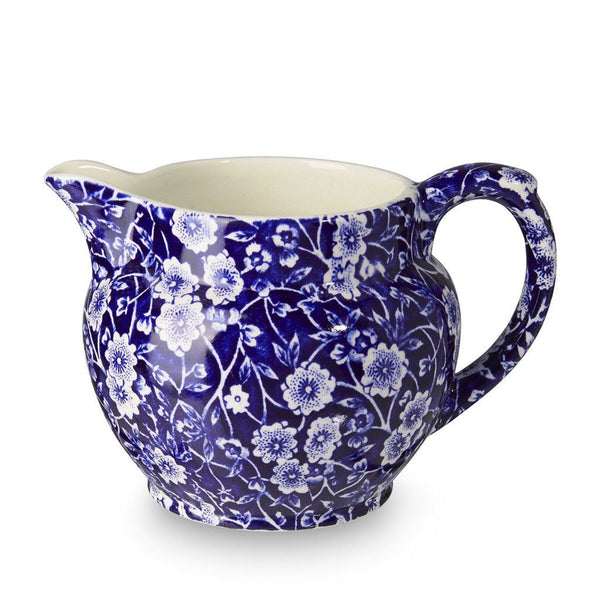Dutch Jug - Blue Calico Small Dutch Jug 284ml/0.5pt