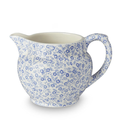 Blue Felicity Small Dutch Jug 284ml/0.5pt