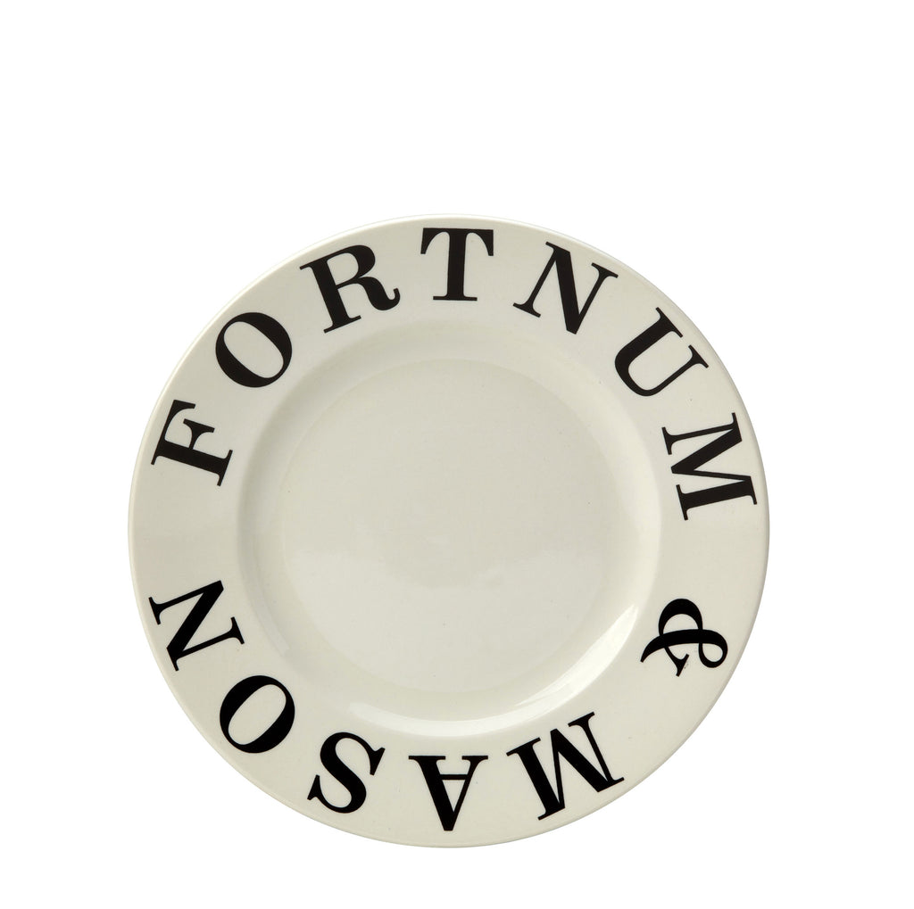 Fortnum and Mason Ecru 20cm Plate Seconds