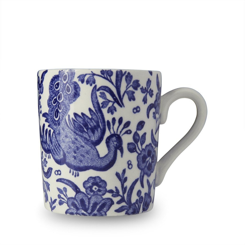 Espresso Cup - Blue Regal Peacock Espresso Cup Seconds