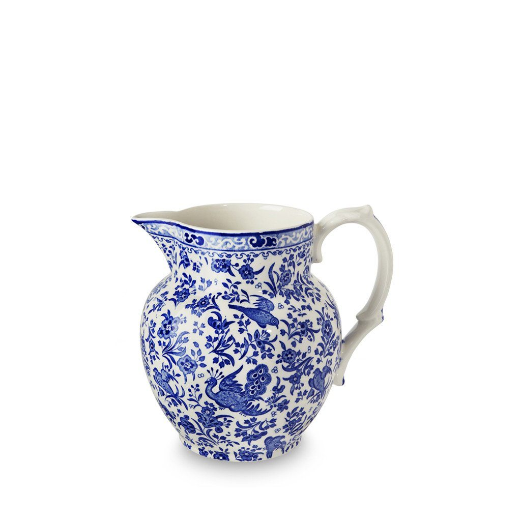 Etruscan Jug - Blue Regal Peacock Etruscan Jug Small Seconds