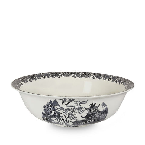 "Black Willow Medium Fruit Bowl 30cm/12"" Seconds"