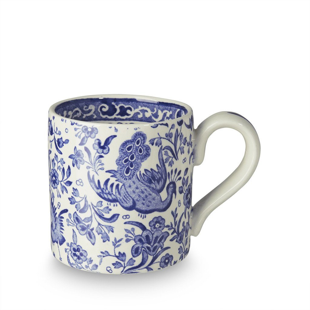 Half Pint Mug - Blue Regal Peacock Half Pint Mug 284ml/0.5pt Seconds