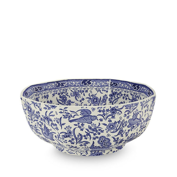 Hexagon Bowl - Blue Regal Peacock Octagonal Bowl Medium 20.5cm/8""