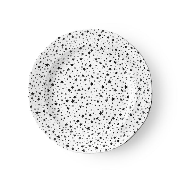 Midnight Sky Light Black Salad Plate