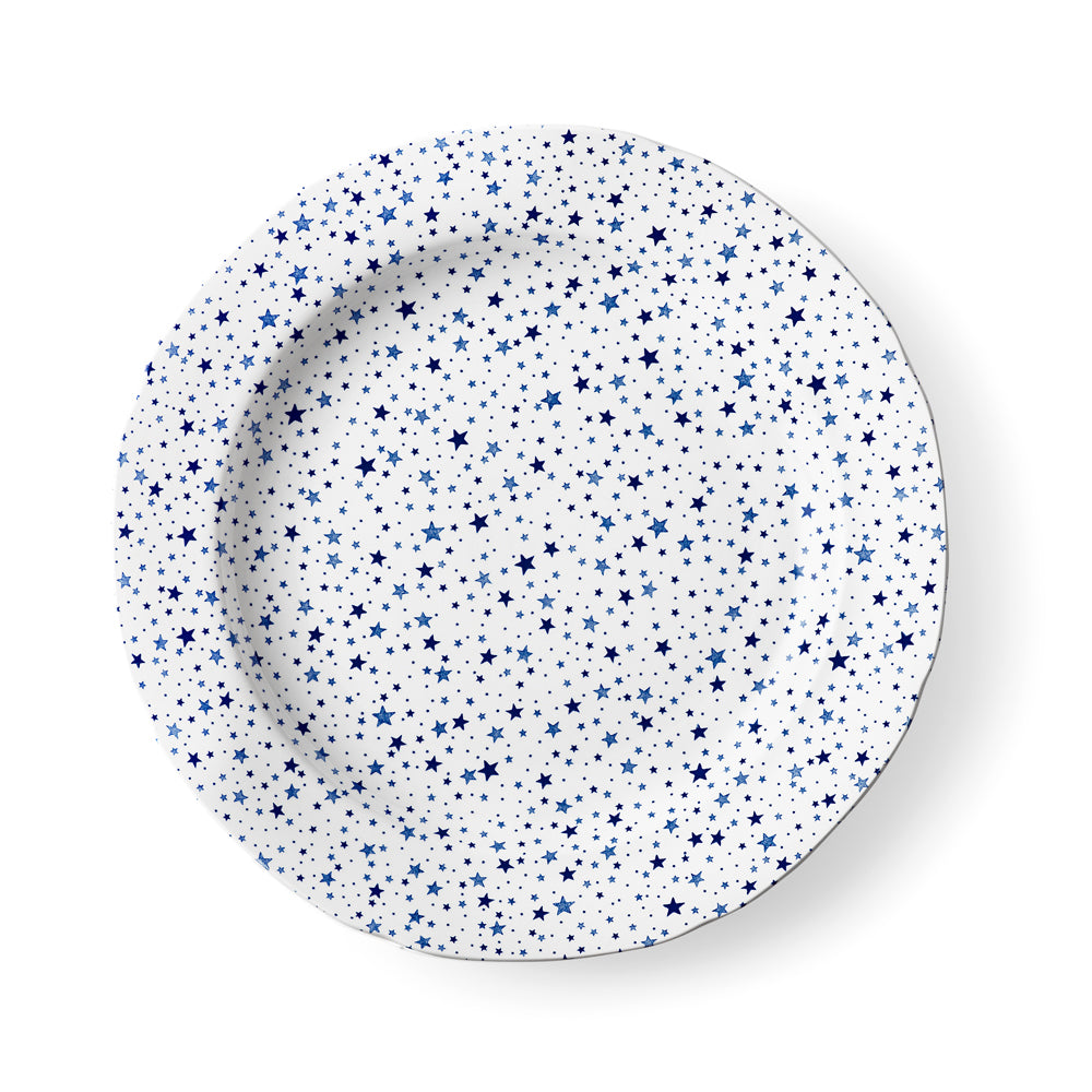 Midnight Sky Light Indigo Dinner Plate
