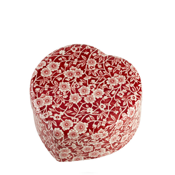 Limited Edition - Red Calico Trinket Box