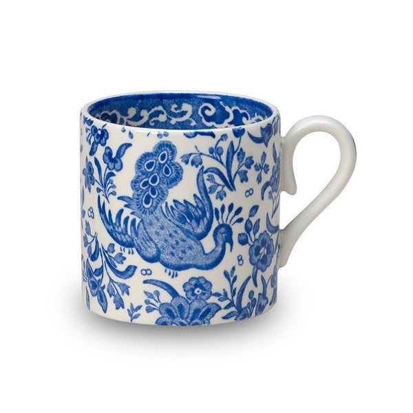 Mini Mug - Blue Regal Peacock Mini Mug