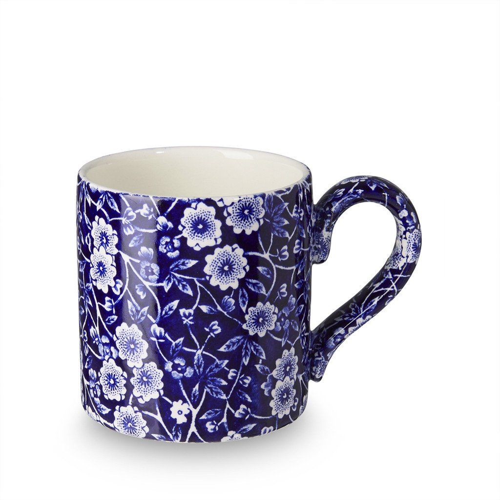 Mug - Blue Calico Mug 284ml/0.5pt Seconds