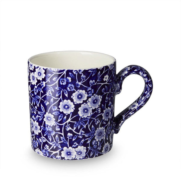 Mug - Blue Calico Mug 375ml/0.66pt Seconds
