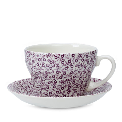 Mulberry Felicity Breakfast Cup and Saucer