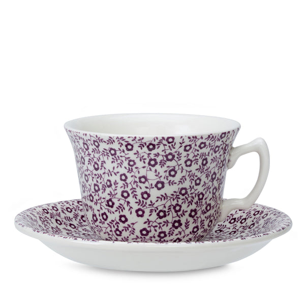 Mulberry Felicity Teacup And Saucer