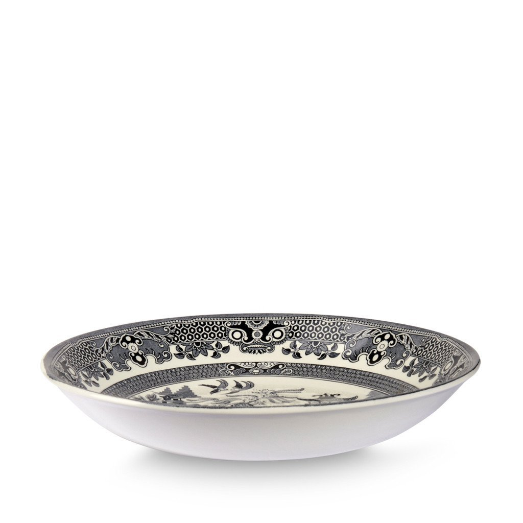 "Pasta Bowl - Black Willow Pasta Bowl 23cm/9"" Seconds"