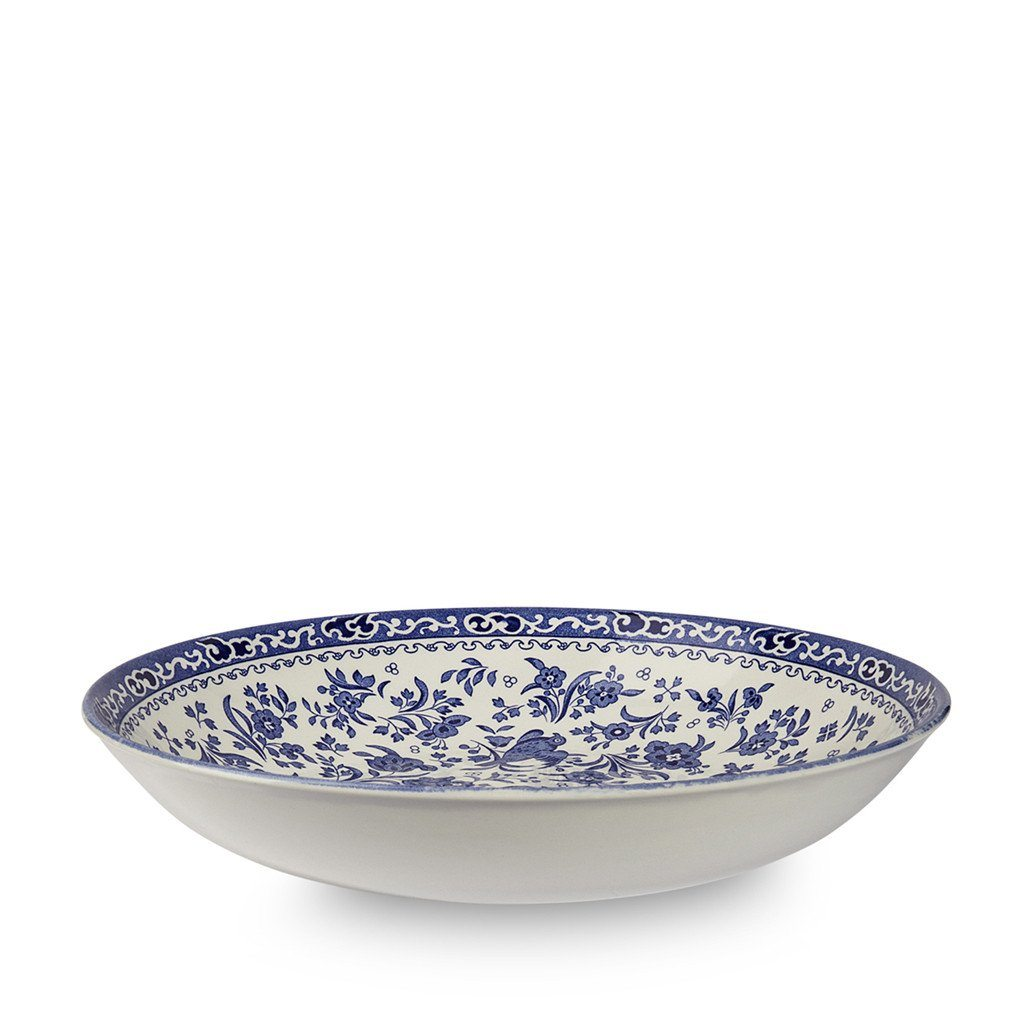 Pasta Bowl - Blue Regal Peacock Pasta Bowl 23cm/9""
